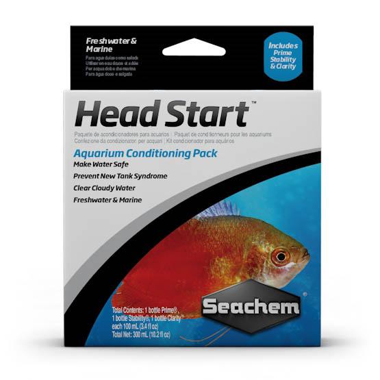 Seachem set přípravků pro start akvária (Prime, Stability, Clarity)