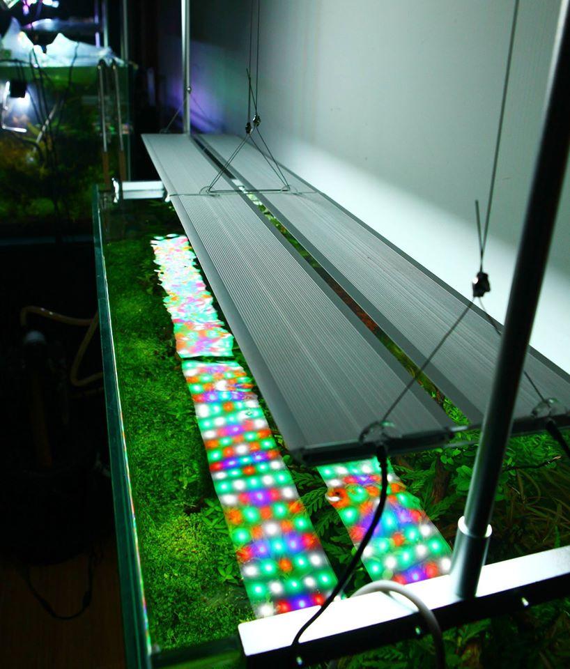 Chihiros kit pro zavěšení osvětlení RGB serie Double