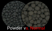 Platinum soil: normal vs powder