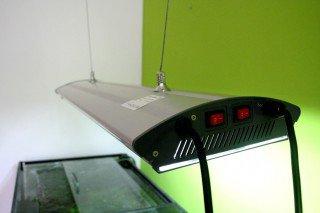 4AQUA Závěsné osvětlení 80cm 4x24W T5