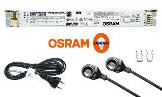 Sada osvětlení do krytu Osram, 60cm 1x24W T5