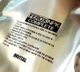INVITAL FEROX NPK COMPLETE 500ml v prášku