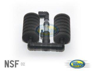 Aqua Nova vnitřní molitanový filtr double NSF-120L