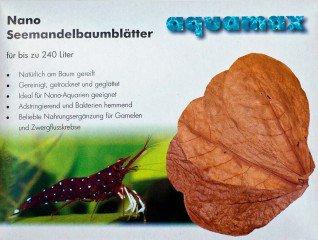 Aquamax Catappa listí mandlovníku nano 10ks