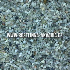 Akvarijní křemičitý písek 1-3 mm 25 kg