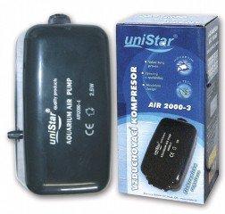 Unistar Air 2000-3 210 l/h 2 výstupy