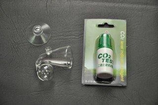 UP Aqua CO2 test s indikační kapalinou