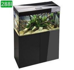 AquaEl Glossy akvarijní set 120x40x60 černý