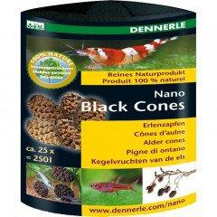 Dennerle Black Cones olšové šišky