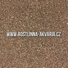 Akvarijní písek hnědý 0,8-1,2mm 3kg