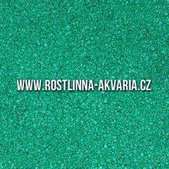 Akvarijní písek zelený 0,8-1,2mm 3kg
