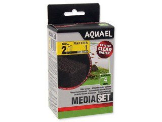 AquaEl media set Fan 3 Plus 2ks biomolitan