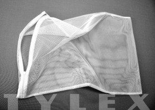 Filtrační síťka 48x70 cm stažení provázkem jemná