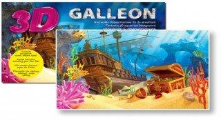 Diversa Galleon 3D plakát 60x30 cm
