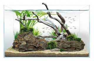 Optiwhite akvárium 60x30x36 cm, sklo 6mm