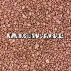Akvarijní písek hnědý 2-4 mm 5kg