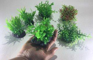 UP Aqua set akvarijních plastových rostlin 6ks 07-06