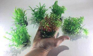 UP Aqua set akvarijních plastových rostlin 6ks XXL 08-06