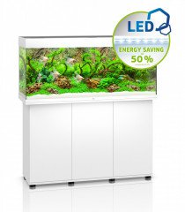Juwel Rio 240 LED akvarijní set bílý