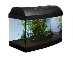 Diversa akvarijní set Startup 40 černý vypouklý 25l LED