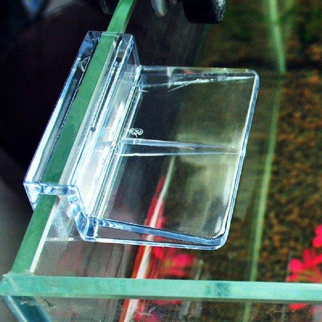 Plastový držák na krycí sklo 6mm