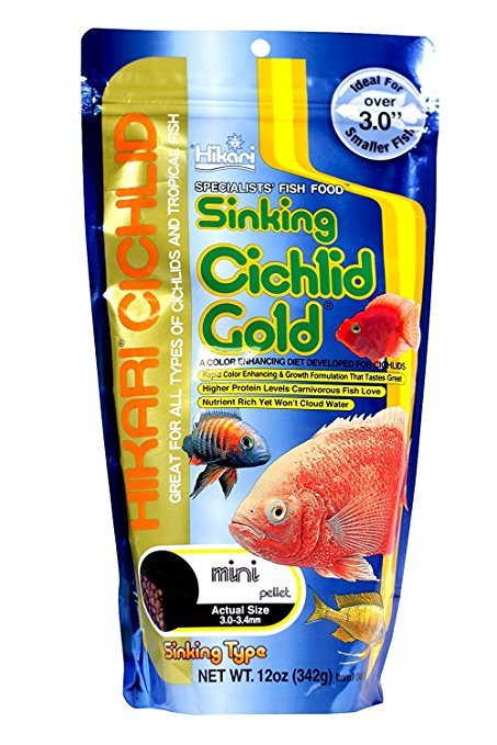 Hikari Cichlid Gold Sinking Mini 324g