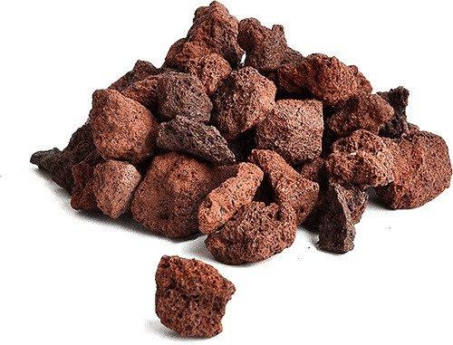 Lávové kameny S 8-20cm karton 20kg