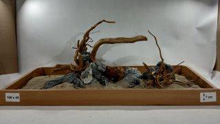 Layout pro akvária o délce 78cm, (ID 3305)