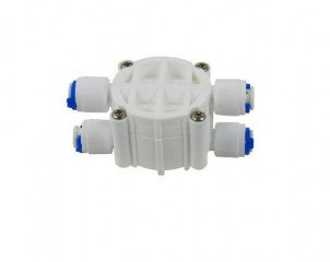 Čtyřcestný ventil ¼