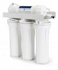 Čtyřstupňová reverzní osmóza pro akvaristiku s DI filtrem + oplach. ventil zdarma