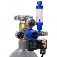 Aquario reduktor BLUE s jehlovým ventilem a nočním vypínáním
