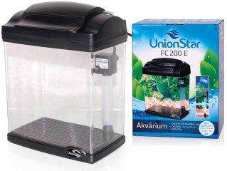 UnionStar LED akvarijní komplet FC200E černý