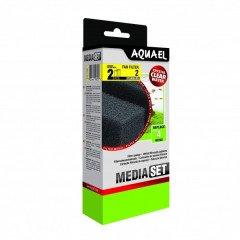 AquaEl Fan Filter 2 Plus náhradní molitany 2ks