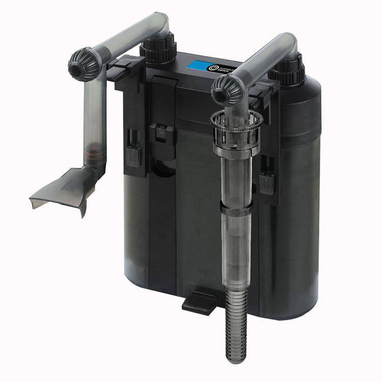 Heaqo SLIM závěsný kanystrový filtr EX500 450 l/h