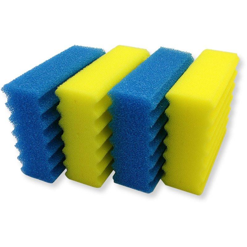 INVITAL sada molitanů 1 žlutý + 1 modrý pro biofiltry 200/550/350/350B