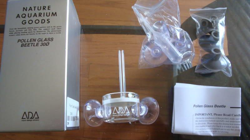 ADA pollen glass difusor